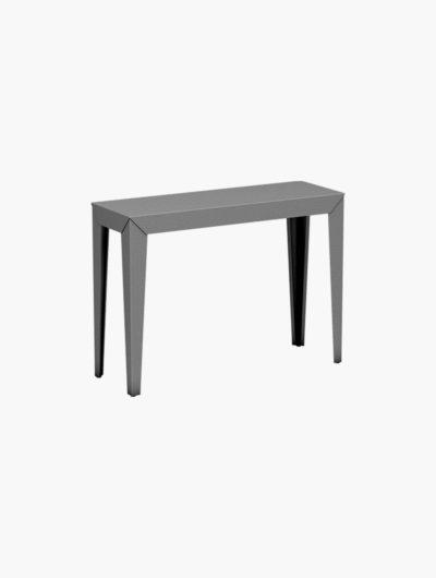 La console sans tiroir Zef est un meuble au style unique. La console haute est entièrement personnalisable